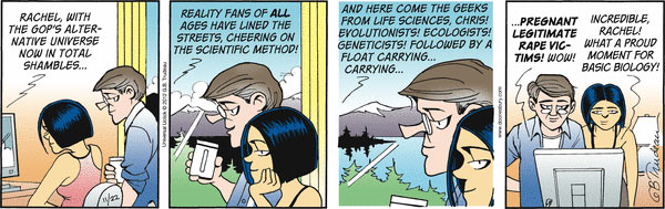 Doonesbury Rachel Chris Legitimate Rape Reality ScienceX600