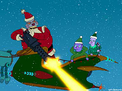 Futurama Holiday Spectacularx400