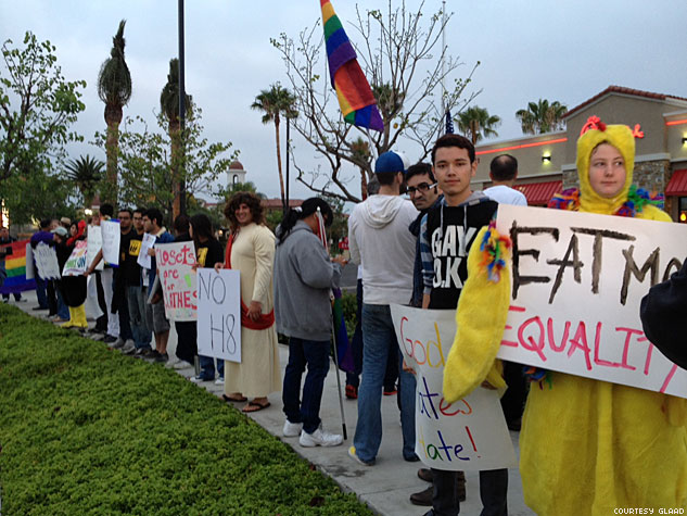 Glaad  Chick Fil A Protest2X633 0