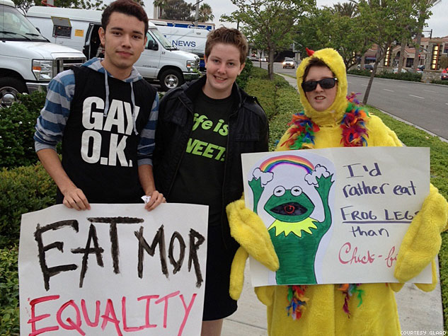 Glaad  Chick Fil A Protest3x633
