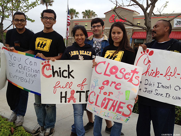 Glaad  Chick Fil A Protest4x633