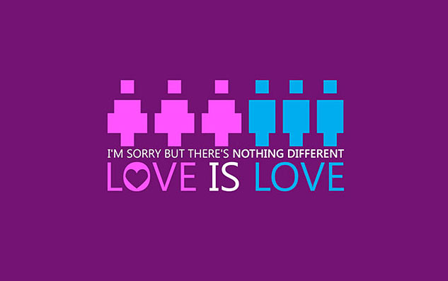 Go Purple  Nothing Different  Love Is Love By Sharkurbanx633
