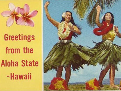 Hawaii Postcardx400