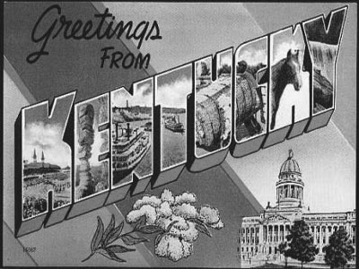 Kentucky Postcardx400