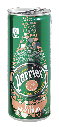 Perrierslimcan Pink Fruit
