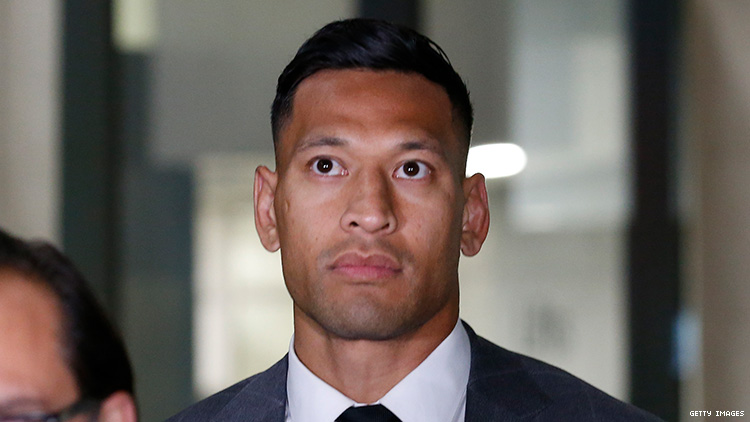 Australia Rugby Settles Out Of Court With Homophobic Star