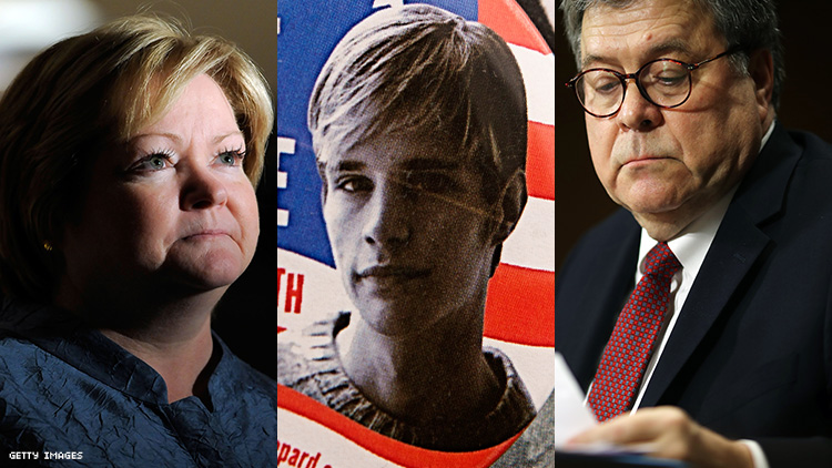 Matt Shepard's Parents Snub AG Barr: We Won't 'Kowtow to Hypocrisy'