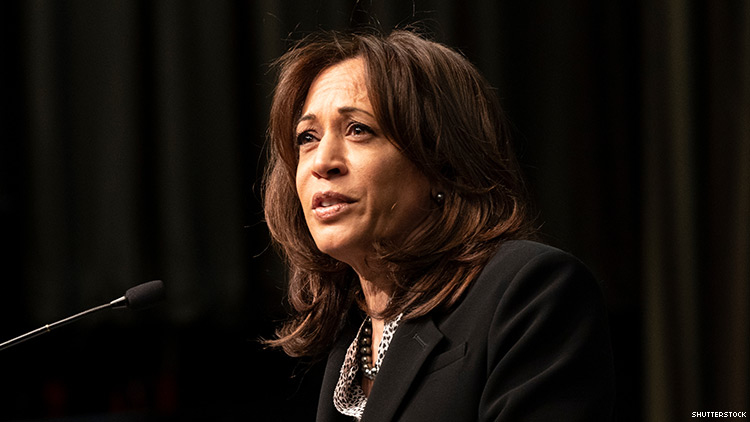 Kamala Harris's LGBTQ Plan Includes a Chief Advocate in White House