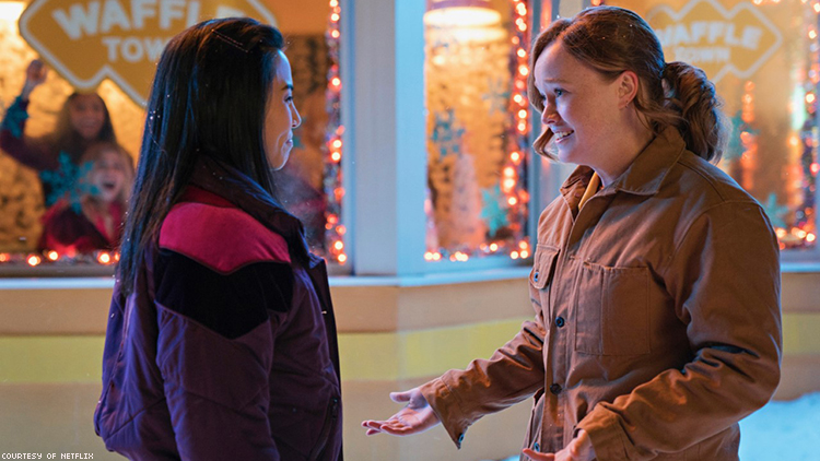 Netflix's 'Let It Snow' Brings Queer Romance to the Christmas Movie