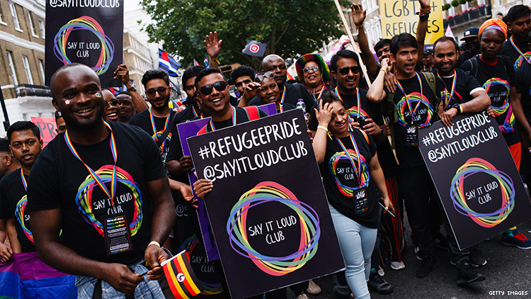 LGBTQ Asylum Seekers Face Violence at Home, Derision in America