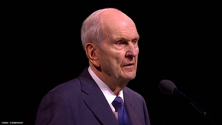 Mormon Church Reaffirms Opposition to Marriage Equality