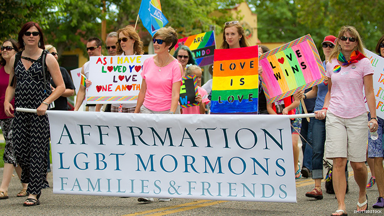 Mormon Church Says It's Against Banning Conversion Therapy in Utah