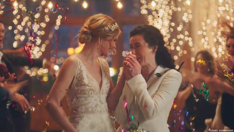 Advertiser Cuts Ties With Hallmark Channel for Pulling Lesbian Ad