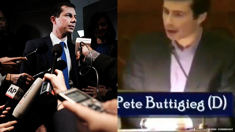 Pete Buttigieg Slammed for 2010 Appearance at Tea Party Event
