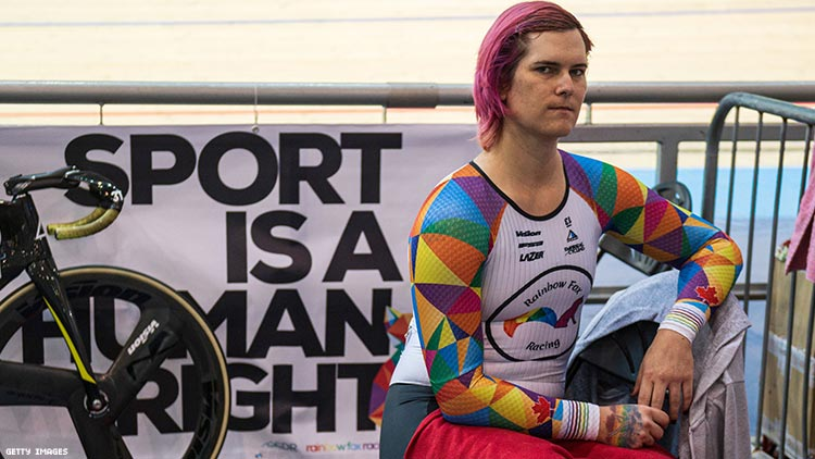 Trans Cyclist Opens Up About Hate Mail — and Death Threats