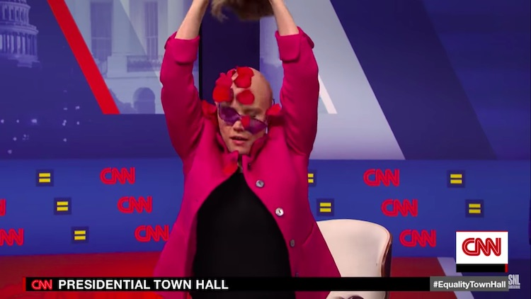 SNL Channels 'Pose,' 'Drag Race' in Parody of LGBTQ Town Hall