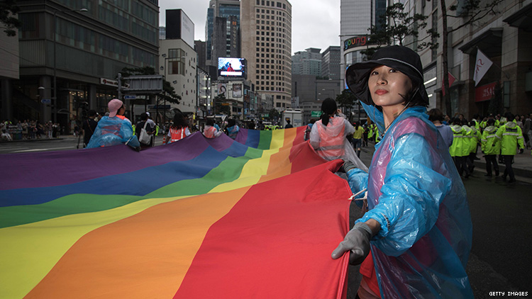 South Korean LGBTQ Activists Demand Marriage Rights and More