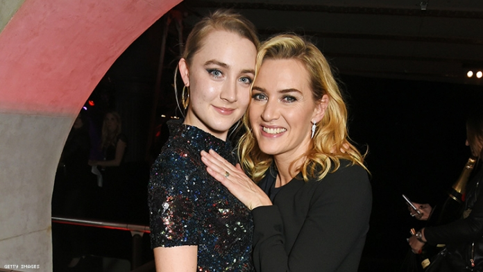 Lesbian Romance in Kate Winslet & Saoirse Ronan Film Sparks Backlash