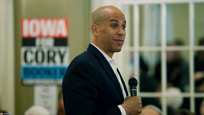 Cory Booker Pledges to Reverse Trump's Trans Ban If Elected