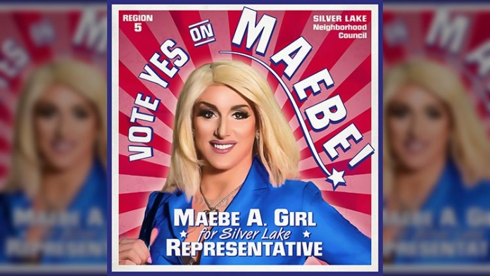 Maebe A. Girl Is First Drag Queen Elected to Office in California