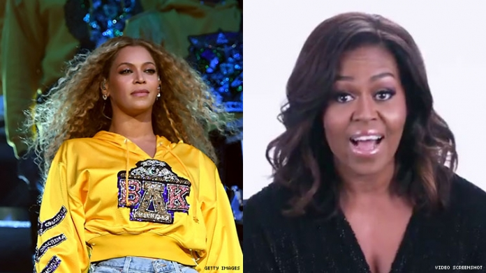 'Hey Queen!': Michelle Obama's Message to Beyoncé Is Perfection