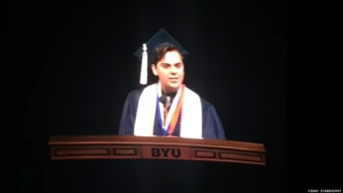 Brigham Young Valedictorian Comes Out as Gay in Graduation Speech