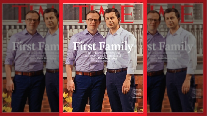 Pete Buttigieg and Husband Make History on Cover of TIME