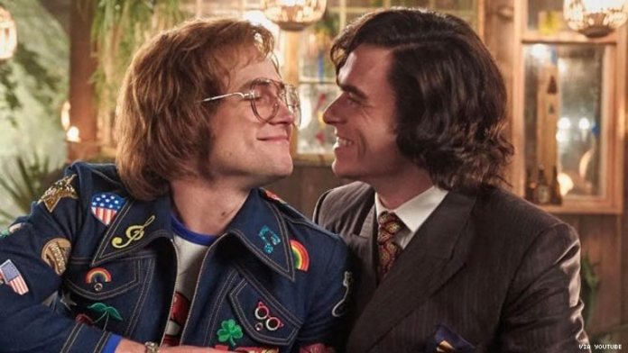 Rocketman's Gay Male Sex Scenes Are the First From a Major Studio
