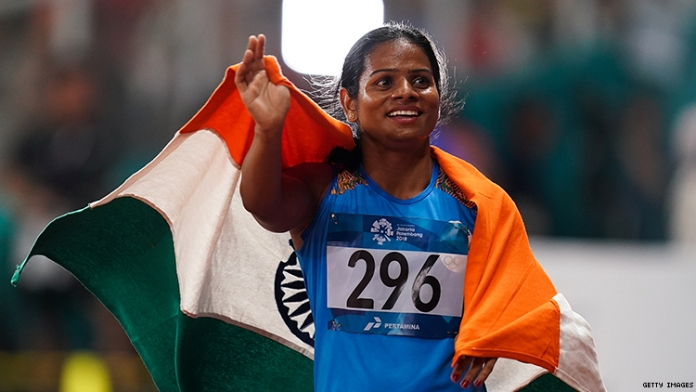 Indian Sprinter Dutee Chand Is First Major Athlete to Come Out There