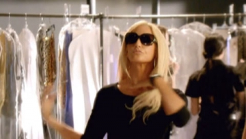 WATCH: Gina Gershon is Deliciously Campy as Donatella Versace in Lifetime Trailer