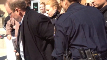 WATCH: Antigay Activists Arrested at Canadian University