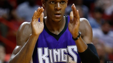 Sacramento Kings guard Rajon Rondo