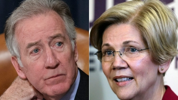 Richard Neal and Elizabeth Warren