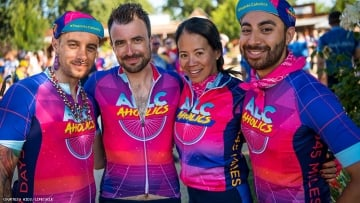 21 Photos of the AIDS/LifeCycle Riders at the Halfway Mark