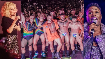 33 Electrifying and Iconic Moments at the We Party Pride Festival