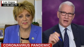 Anderson Cooper wild interview with Las Vegas Mayor Carolyn Goodman leaves him exasperated