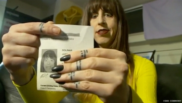 Trans Woman Forced to Scrub Make-Up For Utah License Photo