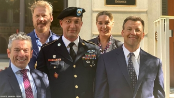 Lawyers and Air Force member