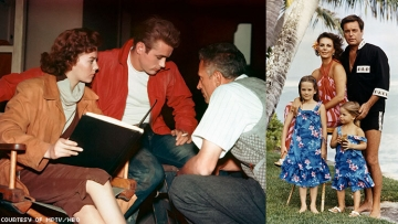 Rebel Without a Cause and Natalie with family