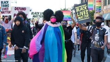 """Drag March for a Change"" Supports BLM in Chicago"