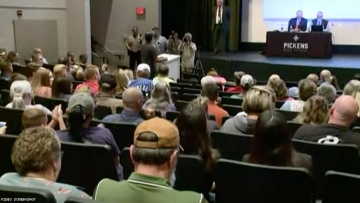 Pickens County school board meeting