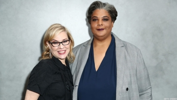 Roxane Gay and Debbie Millman
