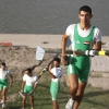 Athletes from the Iraqi National Rowing team