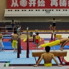 Gymnasts train for the 2012 Chinese Olympic team