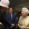 Grace Jones meets Queen Elizabeth