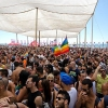 Tel Aviv Pride, 2012: Under the canopy at the beach party