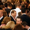 Jerrold Nadler is a face in the crowd