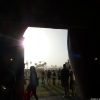 The view from the Playstation tent