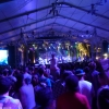 A view from the crowd at Janelle Monae in the Gobi tent