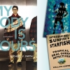 The Granite Moth, Introducing Sunfish & Starfish: Tropical Drag Queen Detectives, and My Body is Yours